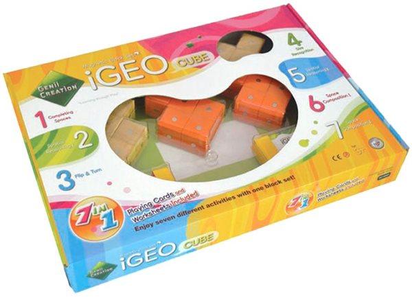 iGEO CUBE - Výuková stavebnice - Genii Creation / 9 dílků/, Sleva 18%