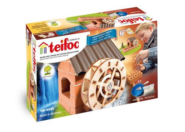 Stavebnice Teifoc 4030 Vodní mlýn - 292× 176× 80 mm