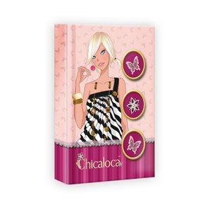 Zápisník 10,5x15 cm linkovaný 96 stran - Chicaloca