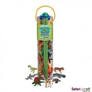 Mega tuba - Dinosauři, džungle a mořská zvířata - Safari Ltd.