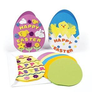 Papírové přání Vajíčko (5ks)