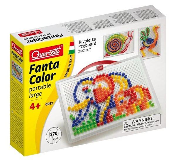 Mozaika Fantacolor Portable průměr 10 mm, 270 ks, věk 4+