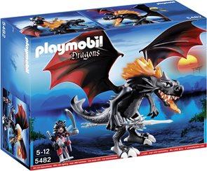 Velký válečný drak s LED ohněm - Playmobil