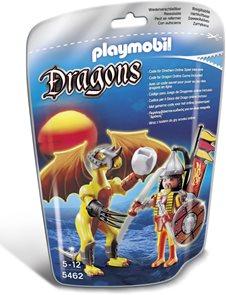 Kamenný drak s válečníkem - Playmobil