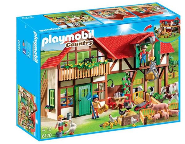 Velká Farma 6120 Playmobil, Sleva 25%, Doprava zdarma
