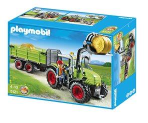 Traktor s přívěsem - Playmobil