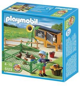 Králíčci ve výběhu - Playmobil
