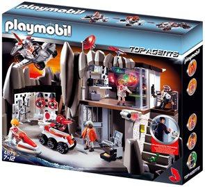 Velitelství tajných agentů - Playmobil