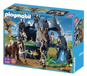 Velká jeskyně s mamutem - Playmobil