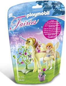 Květinová víla s Jednorožcem - Sluneční záře - Playmobil