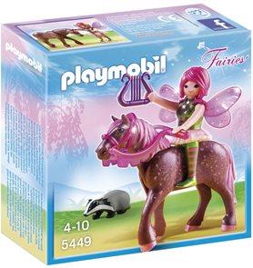 Lesní víla Surya na koni - Playmobil