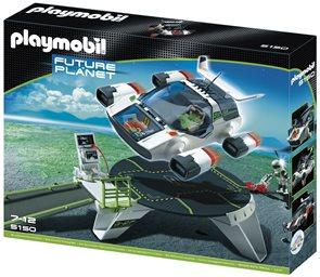 E- Rangers Raketa s orbitální stanicí - Playmobil