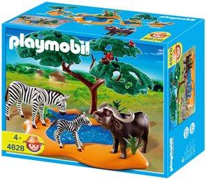 Buvol a zebry - Playmobil