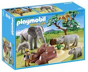 Africká savana se zvířaty - Playmobil