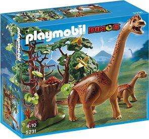 Branchiosaurus s mládětem - Playmobil - novinka 2013