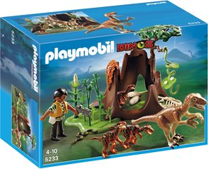 Deinonychus a Velociraptoři - Playmobil - novinka 2013