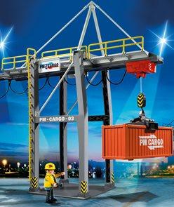 Nákladový terminál - Playmobil - novinka 2013