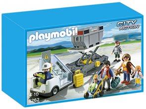 Nástupní schody s pasařéry - Playmobil - novinka 2013