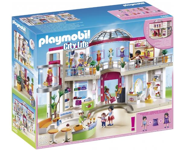 Velké nákupní centrum 5485 Playmobil, Doprava zdarma