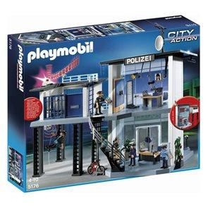 Policejní stanice s alarmem - Playmobil - novinka 2013