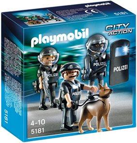 Zásahová jednotka URNA - Playmobil - novinka 2013