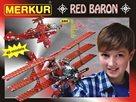 Merkur stavebnice - Red Baron