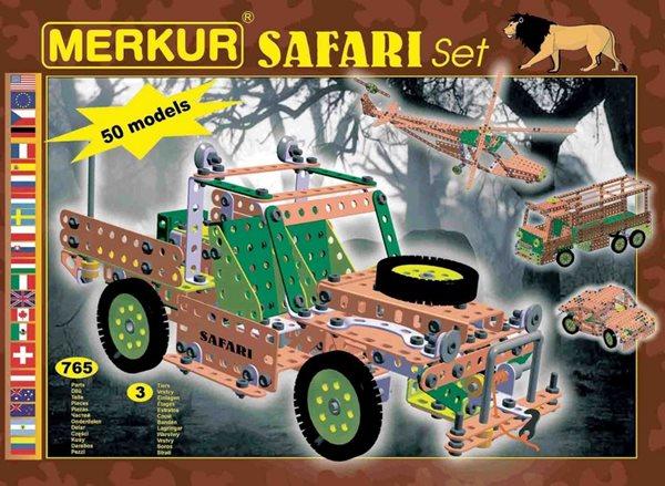 Merkur stavebnice - Safari Set, Doprava zdarma