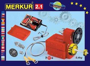 Merkur stavebnice 2.1 - Elektromotorek