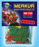 Merkur náhradní díl 102 - krátké pásky a destičky