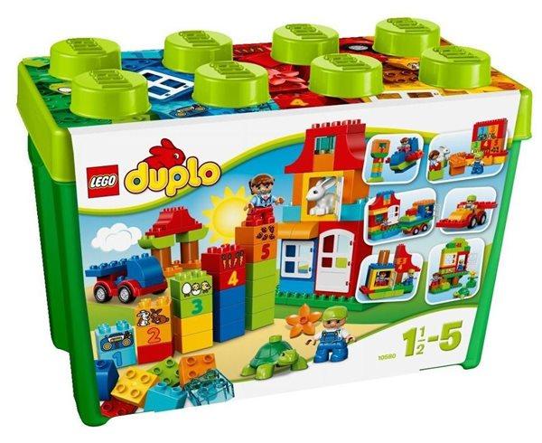 LEGO DUPLO 10580 Zábavný box deluxe - DUPLO Kostičky, Sleva 10%