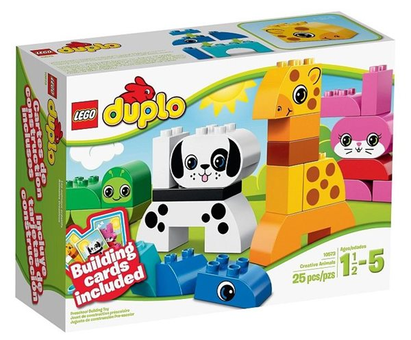 LEGO DUPLO 10573 Postav si zvířátka - DUPLO Kostičky