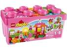 LEGO DUPLO 10571 Růžový box plný zábavy - DUPLO Kostičky