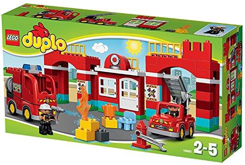 LEGO DUPLO 10593 Hasičcká stanice - DUPLO LEGO Město, novinka 2015, Doprava zdarma