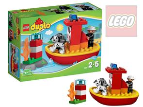 LEGO DUPLO 10591 Hasičský člun - DUPLO LEGO Město, novinka 2015