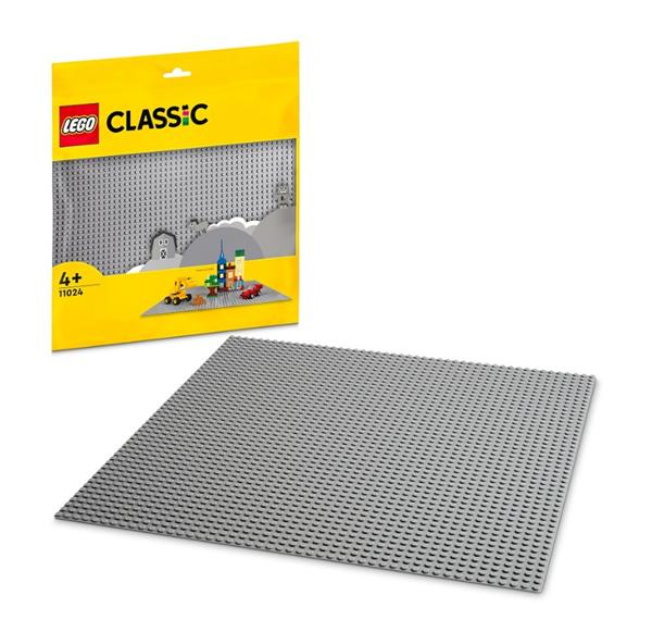 LEGO Classic 10701 Velká podložka na stavění - šedá