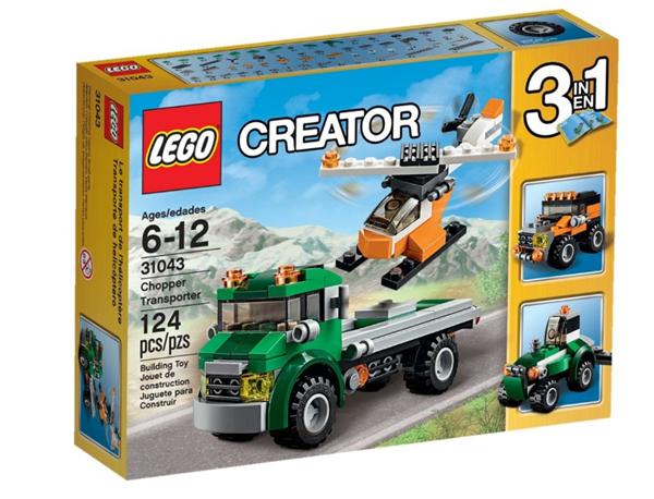 LEGO Creator 31043 Dopravní vrtulník, věk 6-12, novinka 2016, Sleva 20%