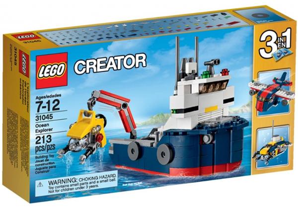 LEGO Creator 31045 Průzkumník oceánu, věk 7-12, novinka 2016