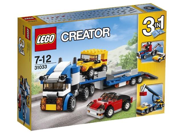 LEGO Creator 31033 Kamion pro přepravu aut, věk 7-12