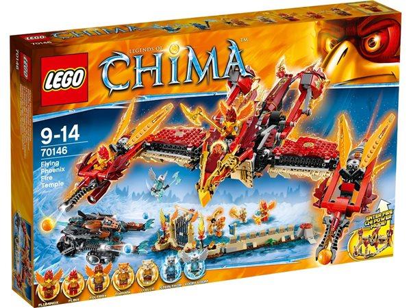 LEGO CHIMA 70146 - Létací ohnivý chrám Fénix, Doprava zdarma