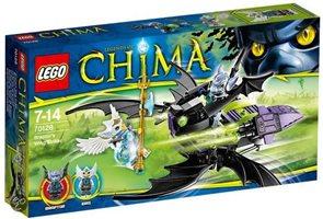 LEGO CHIMA 70128 Braptorův okřídlený útočník