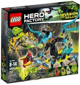 LEGO  Hero Factory 44029 Monstrum KRÁLOVNA versus FURNO