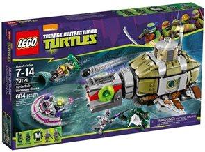 LEGO Ninja Turtles 79121 Želví podmořská honička