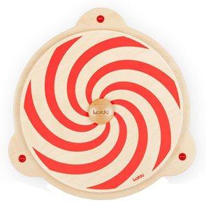 Červená spirála - hrací a didaktický prvek