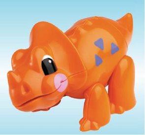 První přátelé - Triceratops
