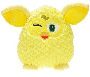 Furby Sprite plyšový žlutý 29 cm