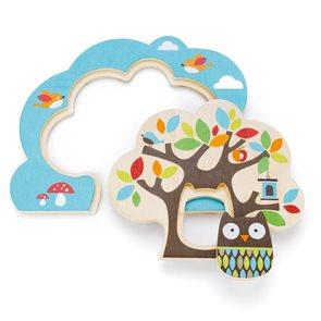 Puzzle - Kamarádi ze stromu - dřevěné