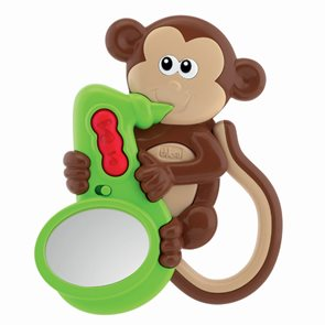 Chrastítko opička - svítí a vydává zvuky