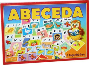 Abeceda - stolní hra / 4 logické hry/