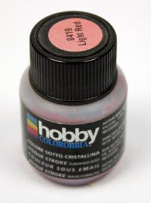 Podglazurní barva - Sv. červená, 29,5 ml