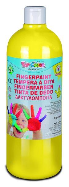 Prstová barva Toy Color - 1000 ml - žlutá